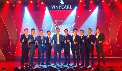 Euro Group vinh dự trở thành top 3 đơn vị phân phối xuất sắc nhất của Chủ đầu tư Vinpearl 2018