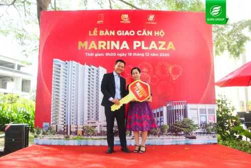 Lễ bàn giao căn hộ Marina Plaza Long Xuyên