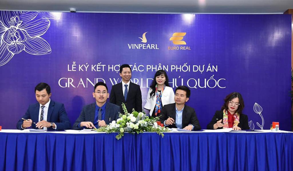 Euro Group ký kết hợp tác phân phối chiến lược các sản phẩm BĐS nghỉ dưỡng của tập đoàn VinGroup